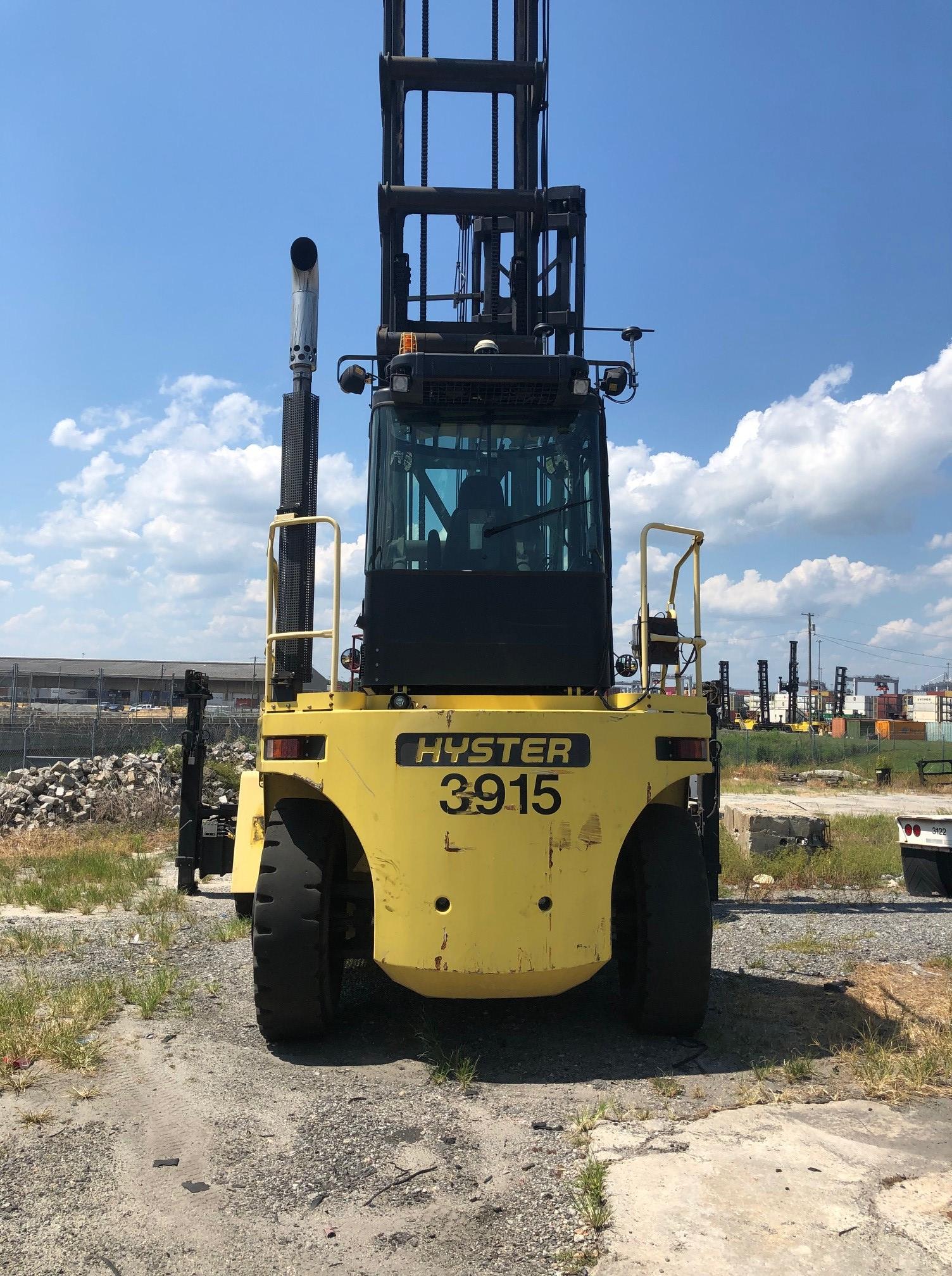 Used Tires Savannah Ga >> 2015 Hyster H500HDEC Empty Container Handler | Intermodal ...